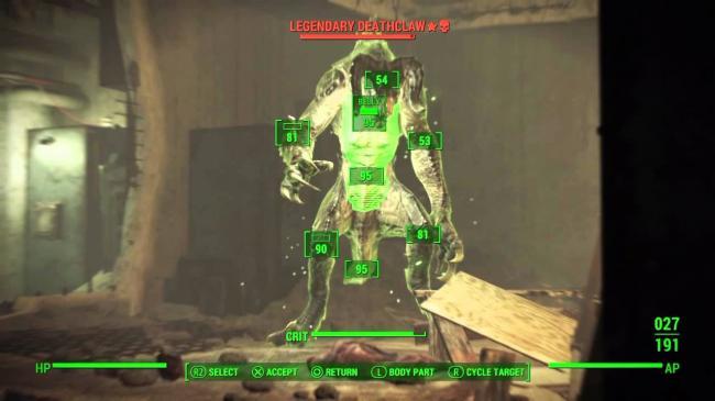 Fallout 4 Легендарные противники