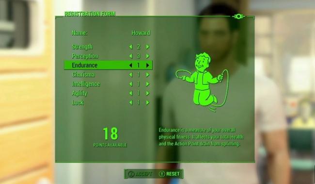 Fallout 4 S.P.E.C.I.A.L.